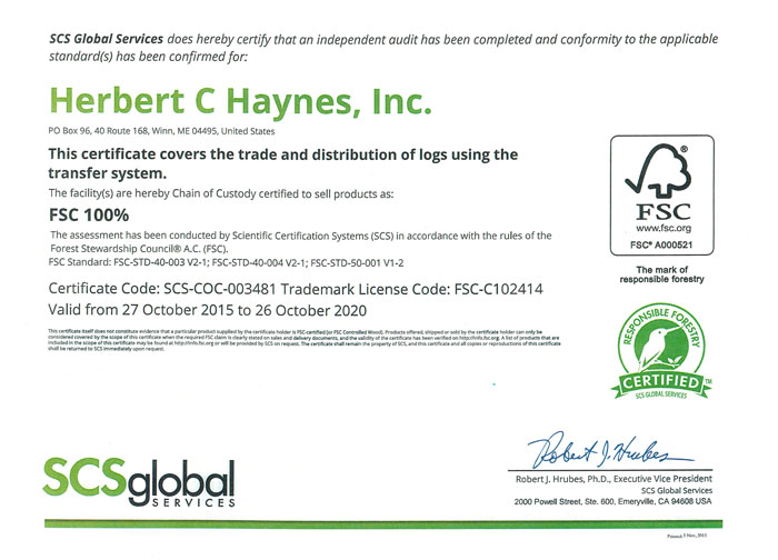 Welcome To H C Haynes Inc